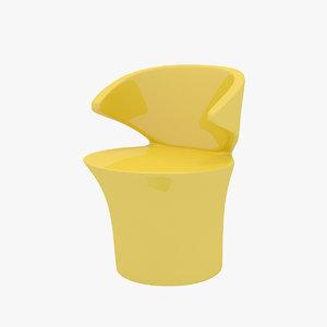 eero focus 2 chair 3D model