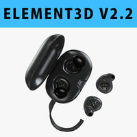 E3D - Bang And Olufsen Beoplay E8 Wireless Premium Earbuds 3D model