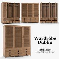 3D model wardrobe dublin