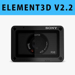 - e3d 3 3D model