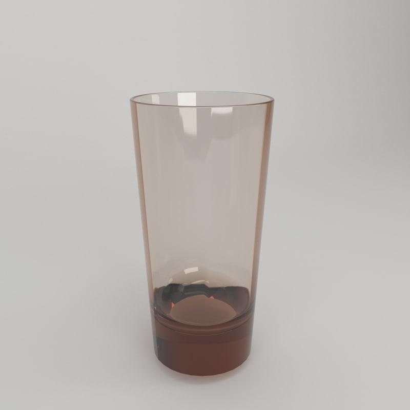 glass vase 3D model