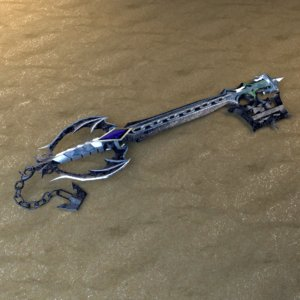 3D oblivion keyblade model