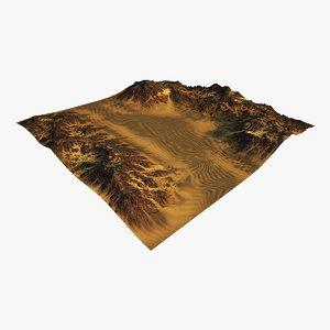 3D terrain ready