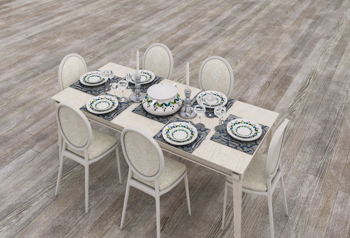dinning table 3D