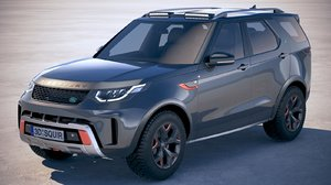 land rover discovery 3D model