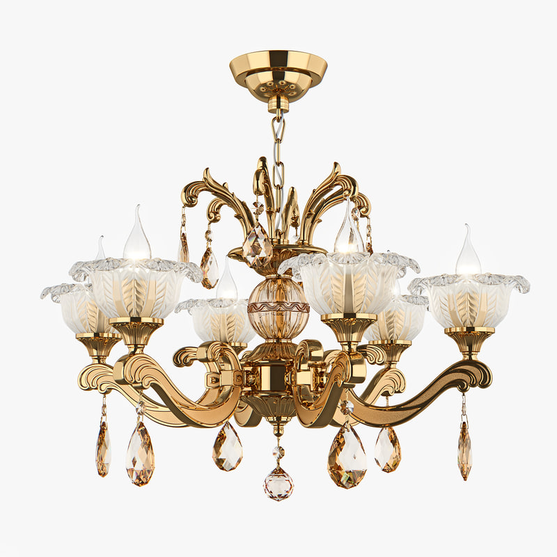 chandelier md 55177-6 osgona 3D model