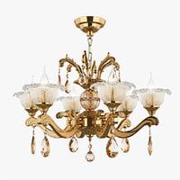 chandelier md 55177-6 osgona 3D model