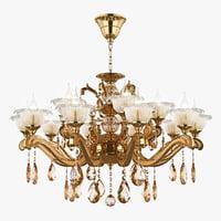 chandelier md 55177-10 5 3D model
