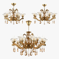 chandelier osgona 3D model