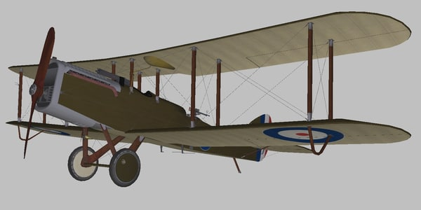 airco world war 3D model