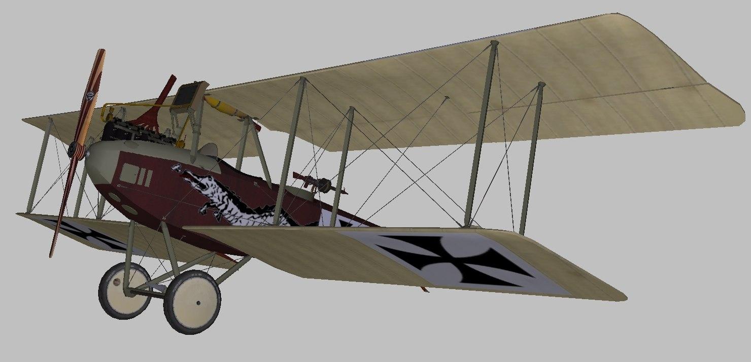3D albatros world war