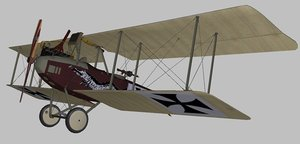 3D albatros world war