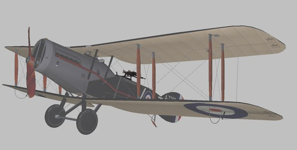 bristol world war 3D model