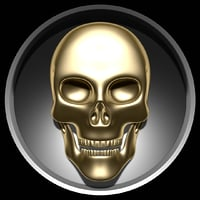 skull relief model