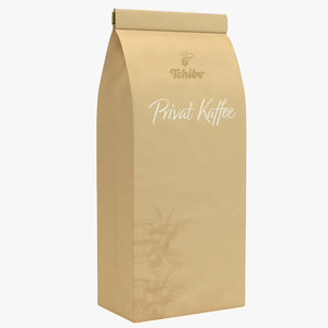tchibo coffee packaging pack 3D model