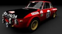 Lancia Fulvia HF 1600