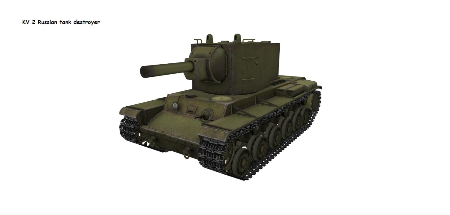 kv-2 2 3D