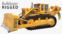 3D bulldozer tracks