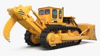 3D bulldozer tracks
