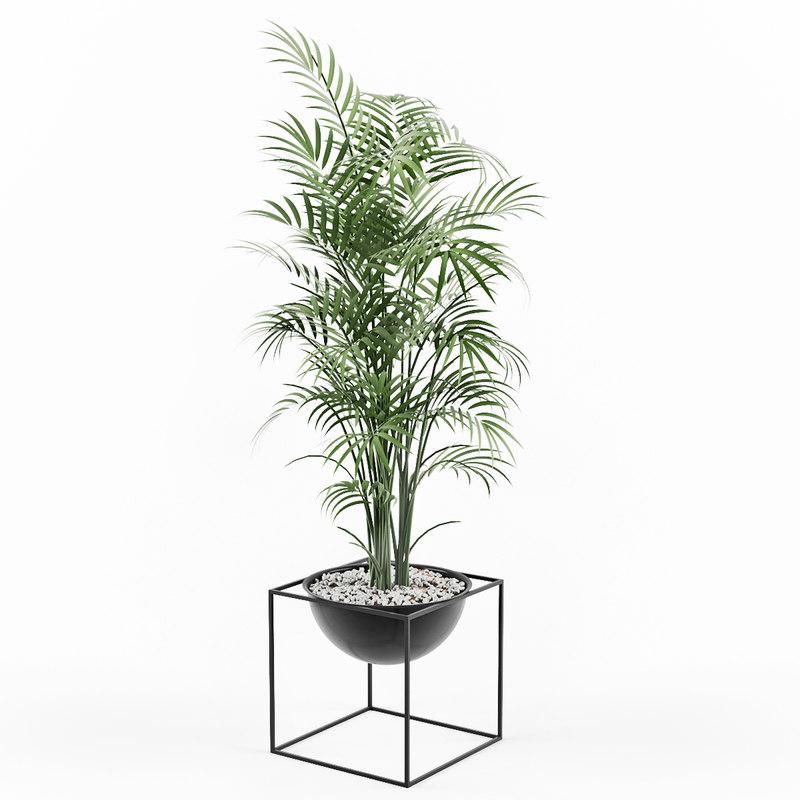 3D plant kubus pot