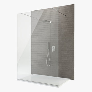 shower set 3D model
