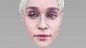 head daenerys targaryen model