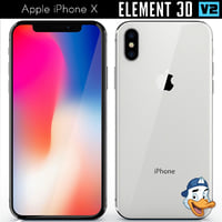 apple iphone x element 3D