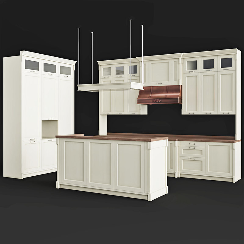 asso cat newstyle kitchen 3D model