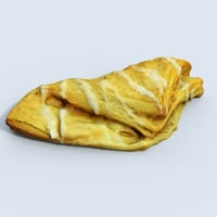 pastry 3D model