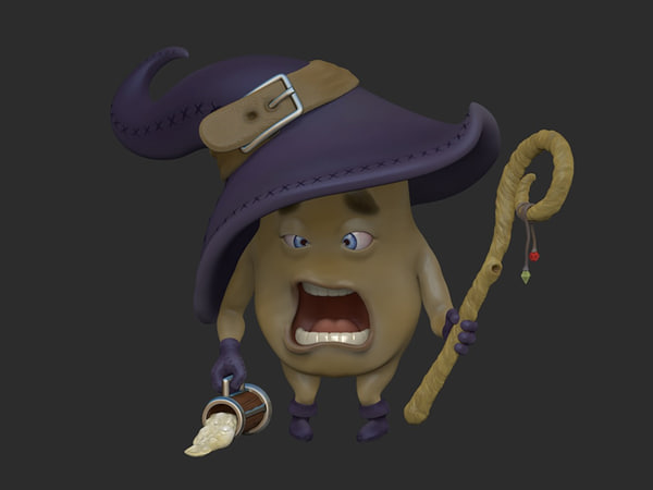 3D funny mage