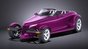 concept plymouth prowler model
