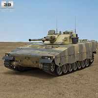 3D combat vehicle 90