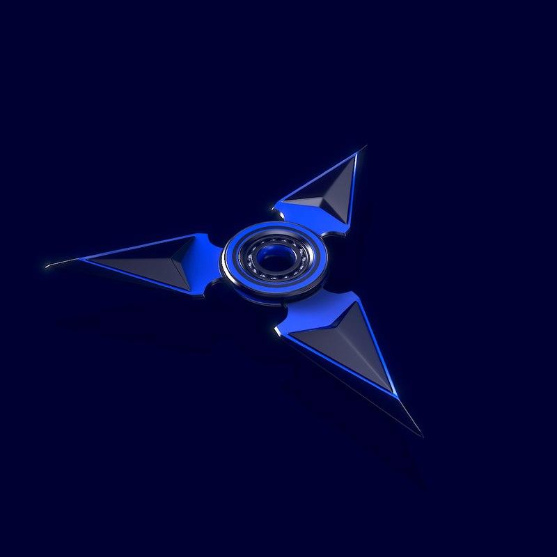 3D model spinner