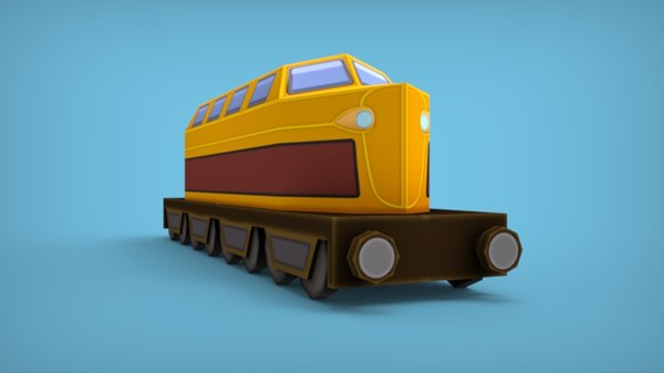 train mobile games 3D