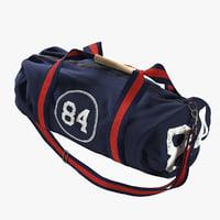 3D sport bag model