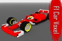 voxel f1 car 3D model