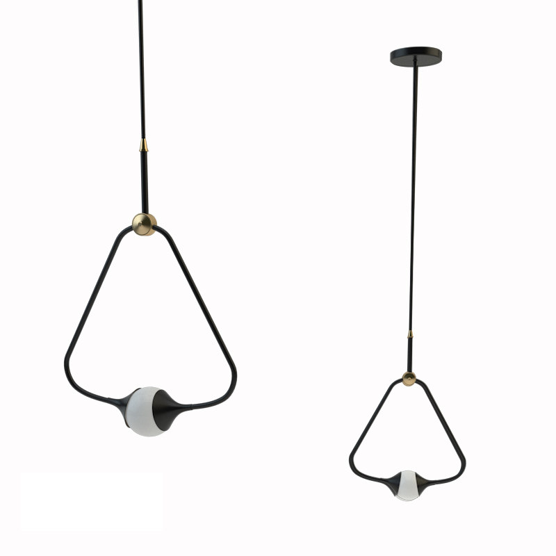 medal pendant light 3D model