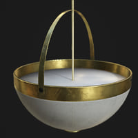 ceiling lamp colonial 3D