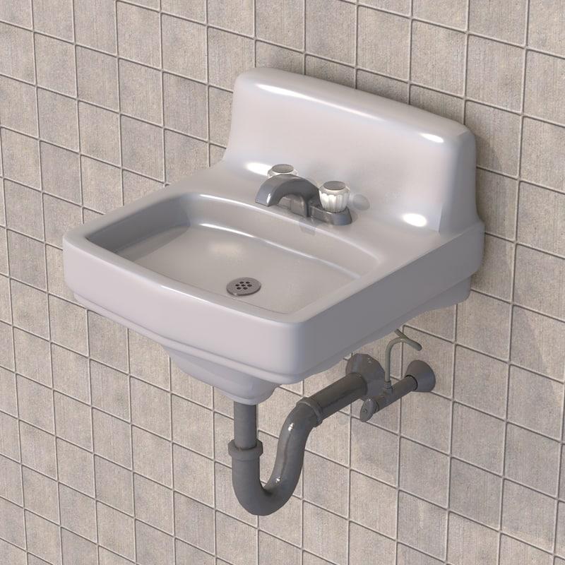bathroom tub porcelain 3D model