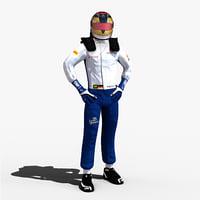 pascal wehrlein 2017 3D model