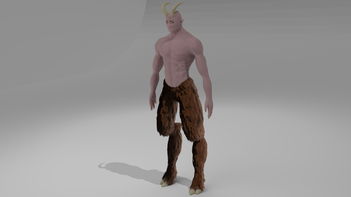satyr model