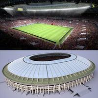 soccer stadium 3D