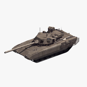 t-14 armata battle tank model