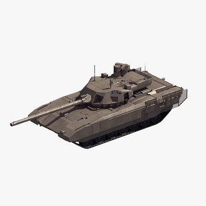 t-14 armata battle tank model