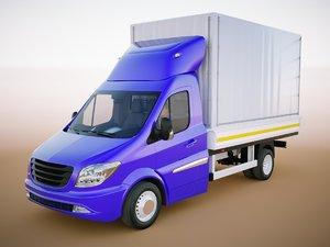 generic van driver 3D