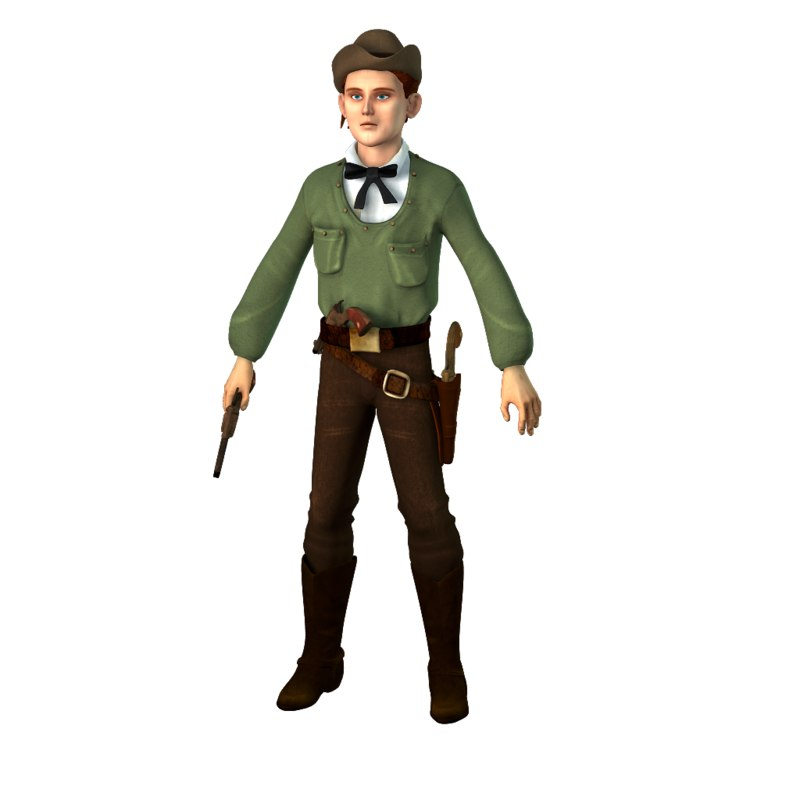gunfighter jesse james 3D