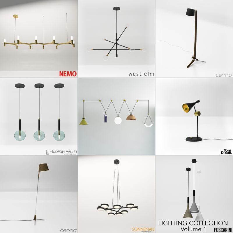 brand lighting volume 1 3D model