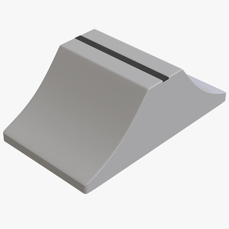 fader button v2 3D model