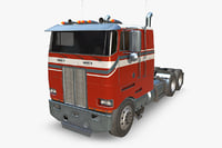 3D large truck model