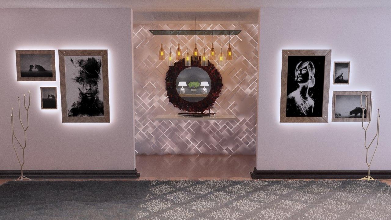 interior living room 3D